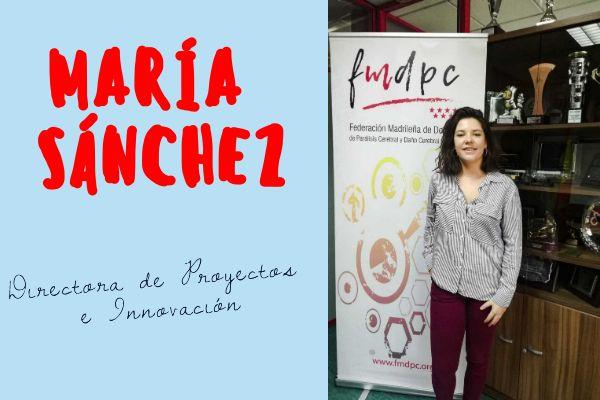 María Sánchez, Directora de Proyectos e Innovación
