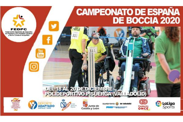 Campeonato España Boccia 2020